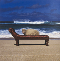 Look hear? (10cc) Album cover by Hipgnosis