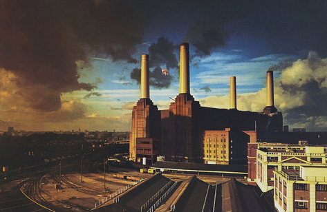 "Pink Floyd ""Animals"" Album cover art by Hipgnosis"