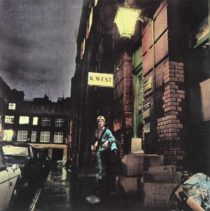 Ziggy Stardust de David Bowie album cover art print