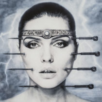 "Debbie Harry ""Kookoo"" by H.R. Giger tirage d'art album cover art print"