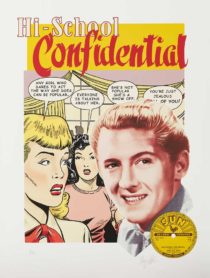 Jerry Lee Lewis High School Confidential par Terry Pastor tirage d'art album cover art print