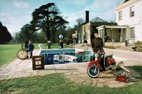 Be here now Oasis album cover signed art print