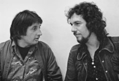 "Storm Thorgerson and Aubrey ""Po"" Powell from Hipgnosis in the 1970s"