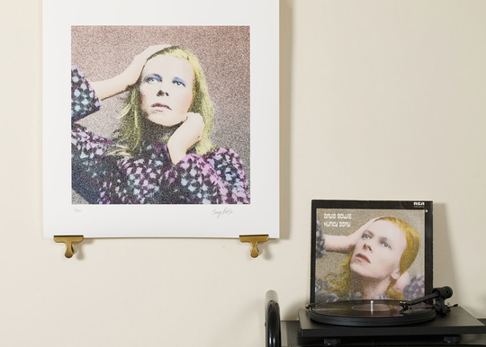 DavidBowie_OhYouPrettyThings_Pink_AlbumCoverArtPrint-scale
